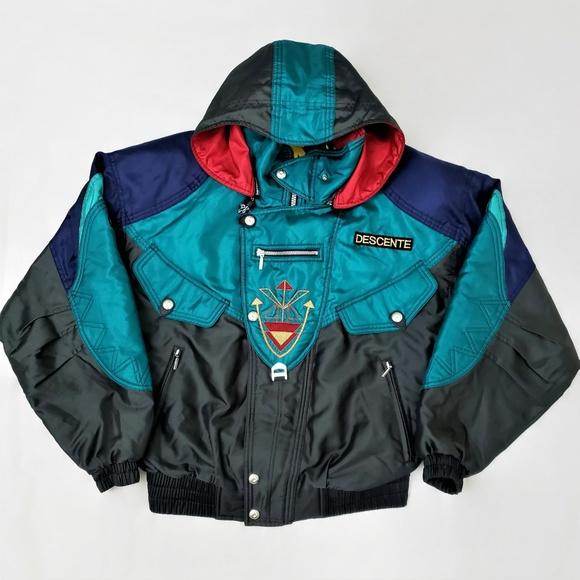 7a884bbc6 Descente Vintage Ski Jacket Coat Mens Size Large